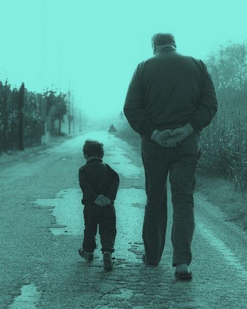 il vecchio e il bambino