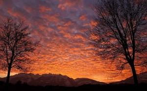 tramonti alba a