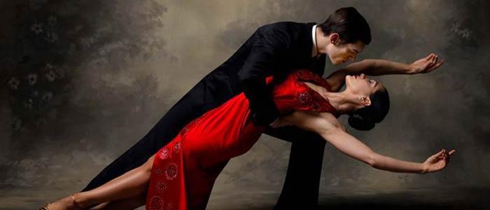 Tango sensual dance